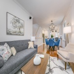 3 Storey, 3 Bed, 3 Bath Renovated Home steps to the Danforth